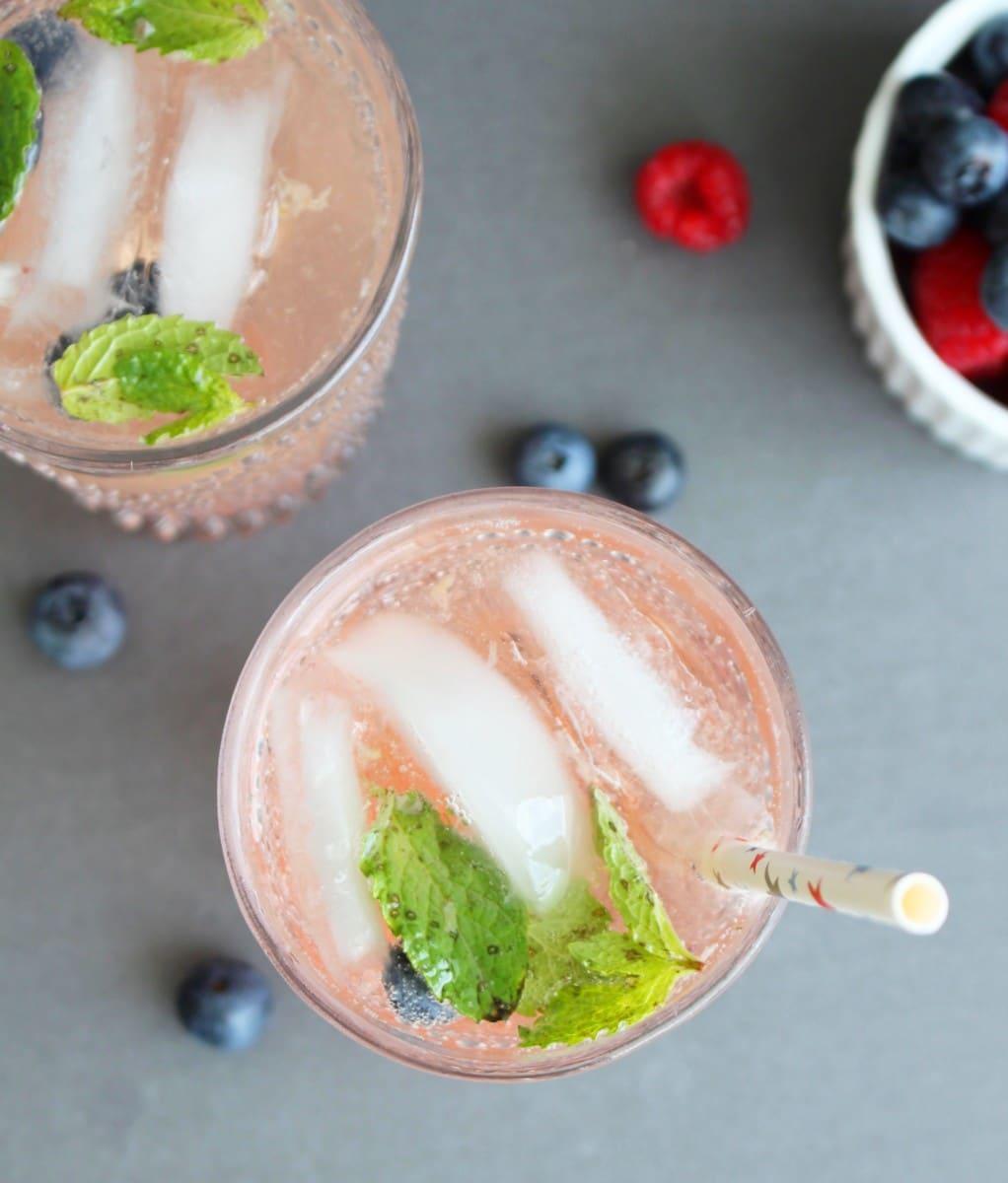 Berry Vodka Spritzer