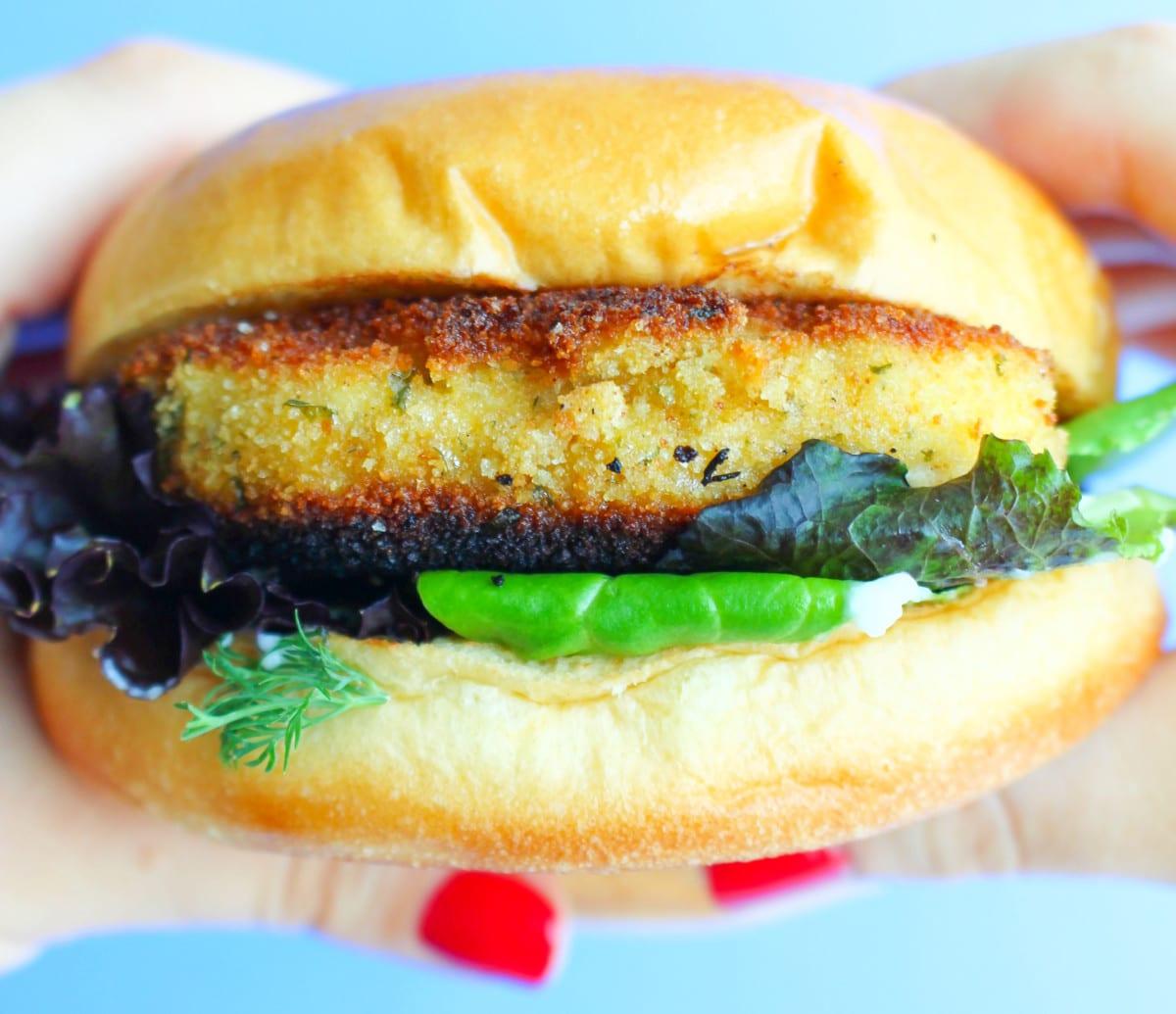 Chicken Schnitzel Sandwich Foodbyjonister