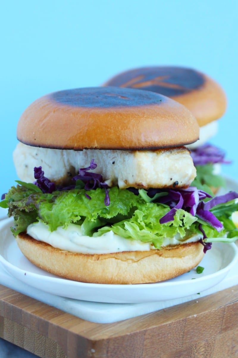 Mahi Mahi Fish Sandwich