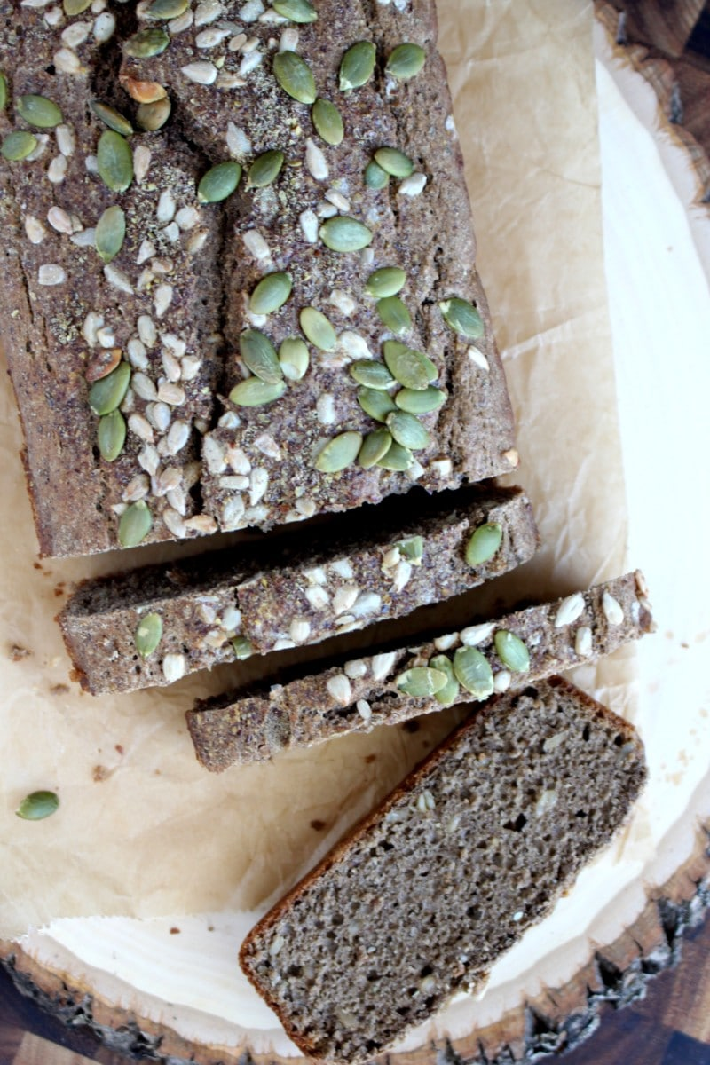 Buckwheat Beer Bread