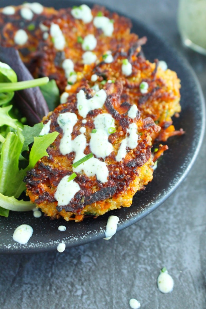 Sweet Potato and Quinoa Cakes