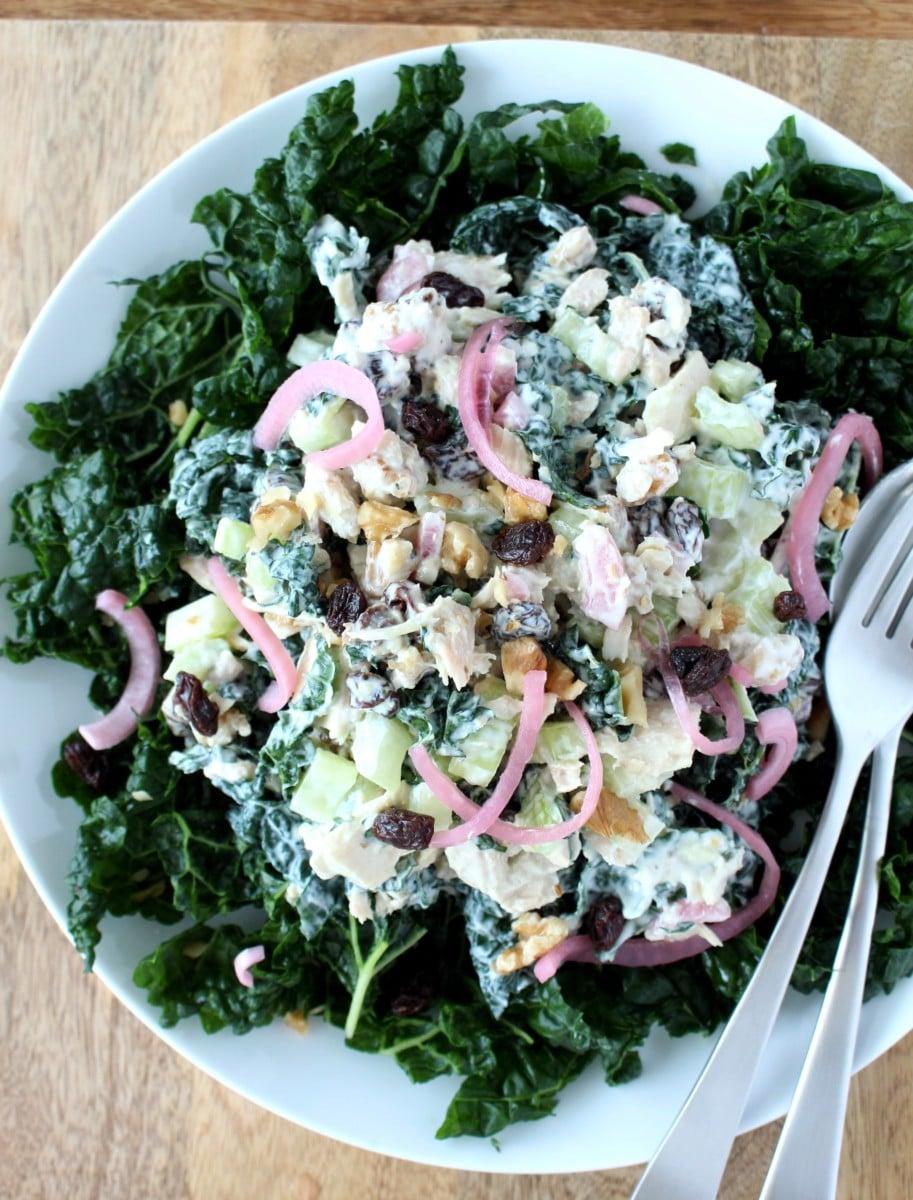 Tuna and Kale Salad