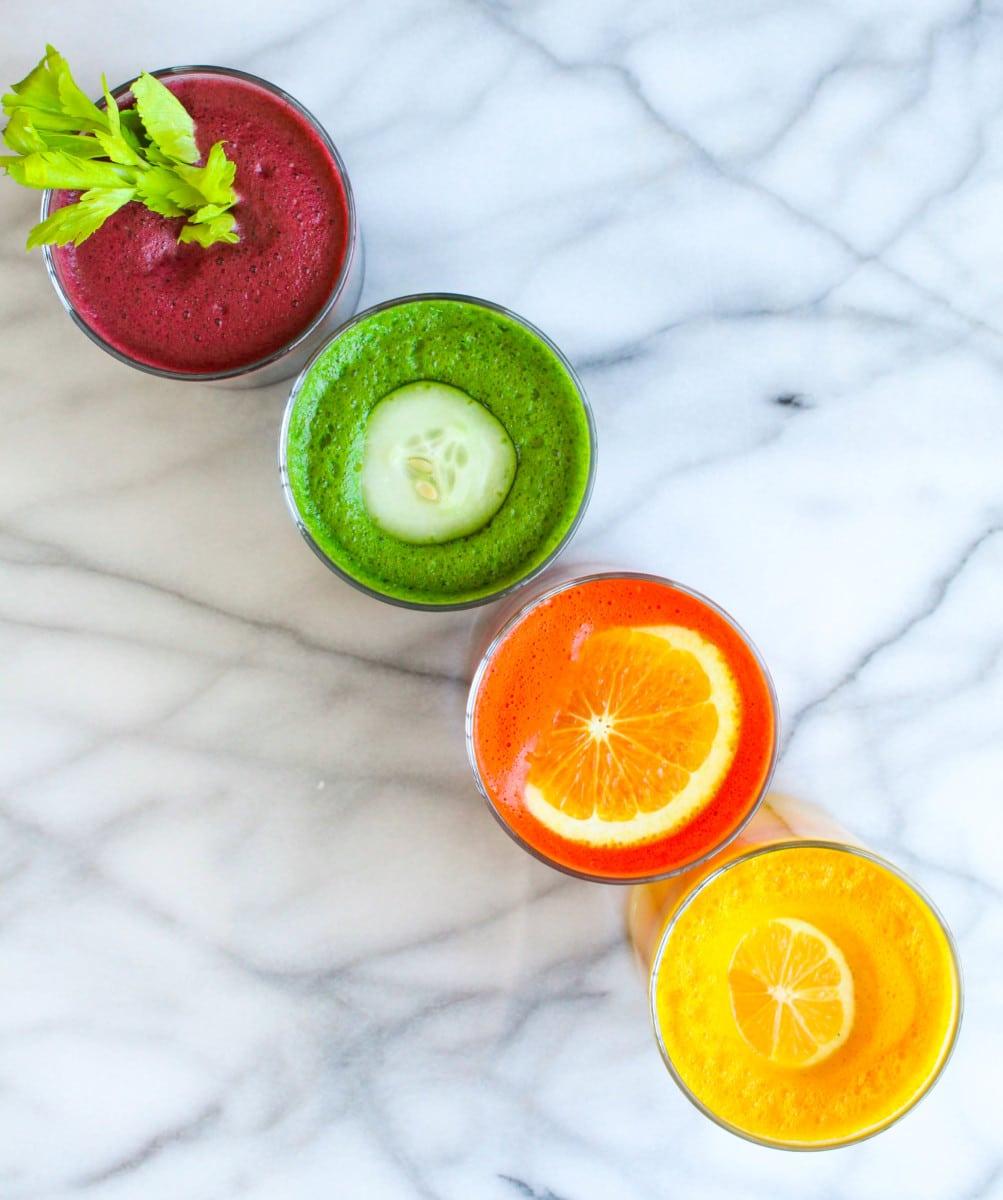 Rainbow Juices