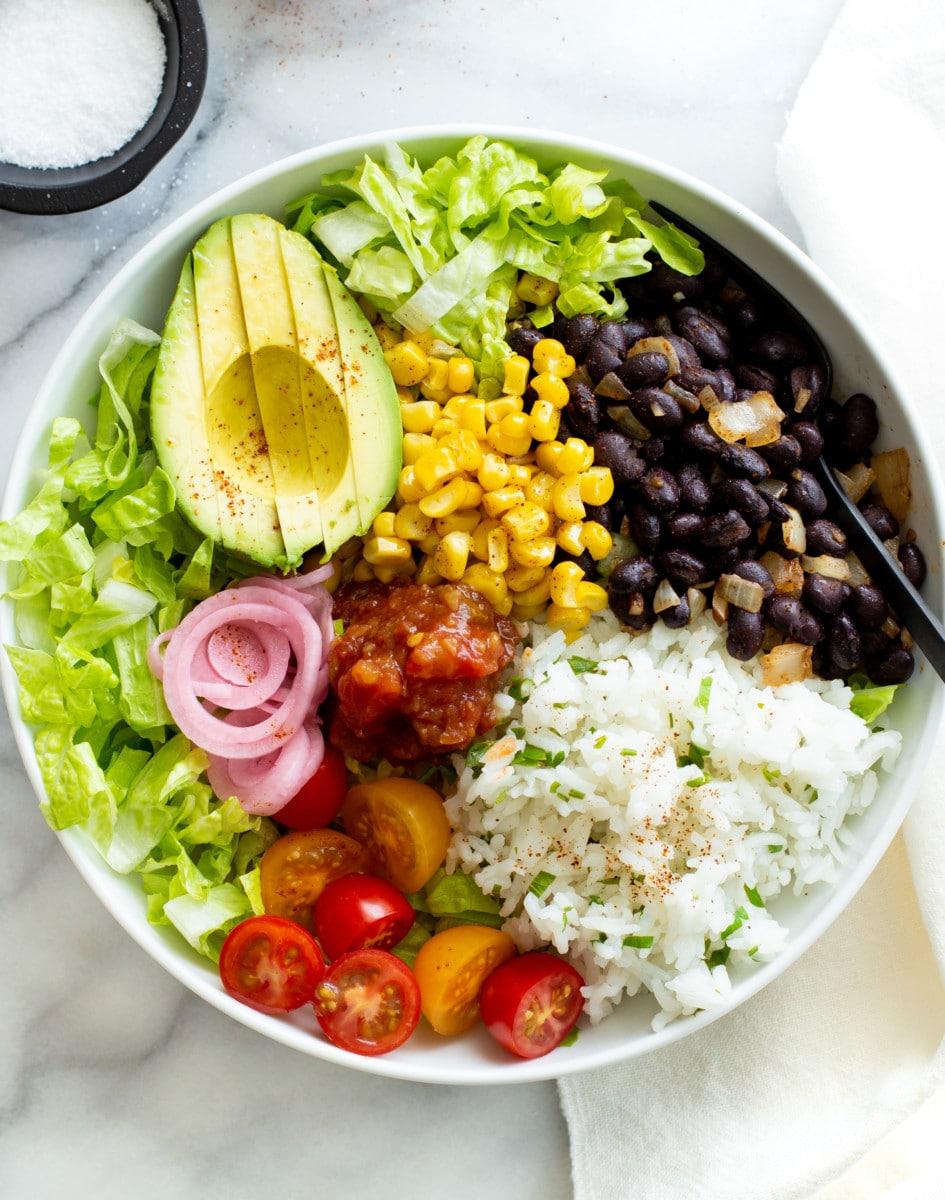Black Bean Burrito Bowl Foodbyjonister
